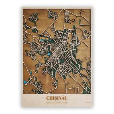 Harta Lemn Chisinau