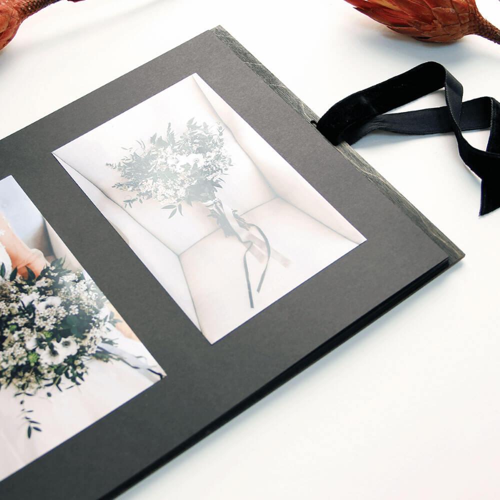 Album foto din lemn